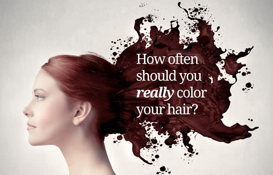 Hair Coloring Q&A: How Often Should You Dye Your Hair? | Med-Health.net