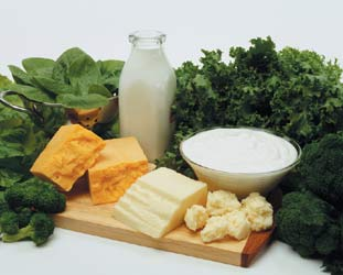 how to get 1200 mg calcium from food