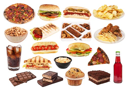 Image result for processed carbs images