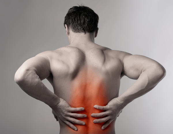 Treating lower back pain golf