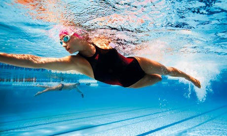 what causes headache after swimming med health net