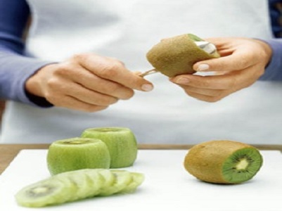 Eat Peel of Kiwi Peel The Kiwi Fruit Skin With